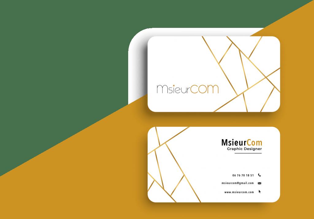 Carte de visite MsieurCom